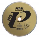 "Pearl 10"" x .060 x DIA - 5/8"" Adapter P5 Diamond Blade - Tile & Marble"