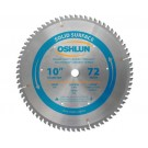 "SOLID SURFACE SAW BLADES 10"" X 5/8"" X 72T"