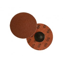 "Merit 2"" x 60 Grit Al/Ox Quick Change Discs - Type III"