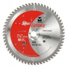 "Silver Lightning Wood Cutting Saw Blades 7 1/4"" x 5/8"" DIA x 60T - 717147"