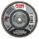 "Pearl Premium 4-1/2"" x 5/8""-11 Silicon Carbide T27 Flap Disc - 80 GRIT (Pack of 10)"