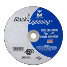 "Mercer Black Lightning 7"" x 5/64"" x 7/8"" - Stainless Steel (Pack of 25)"