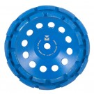 "Segmented Diamond Cup Wheels 7"" x 5/8"" - 11 - Mercer Blue Lightning"
