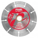 "4"" x .080 x 20mm, 5/8"" Pearl P2 PRO-V  Segmented Diamond Blade"