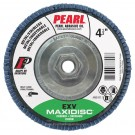 "Pearl EXV 4-1/2"" x 5/8""-11 Zirconia T27 Flap Disc - 80 GRIT (Pack of 10)"