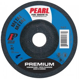 "Pearl 4"" x 1/8"" x 5/8"" Grinding Wheel 46 Grit  TYPE 27 - Metal (Pack of 20)"