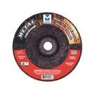 """Mercer 7"""" x 1/4"""" x 5/8""""-11 Grinding Wheel TYPE 28 - Metal (Pack of 10)"""