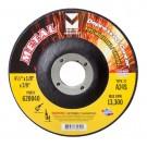 """Mercer 5"""" x 1/8"""" x 5/8""""-11 Grinding wheel TYPE 27 - Metal (Pack of 20)"""