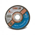 "CGW Quickie Cut Reinforced Cut-Off Wheel - 4-1/2"" x .045 x 7/8"" - Type 27"