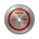 "Aluminum Cutting Saw Blades 12"" X 1"" X 120T"