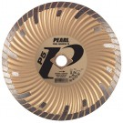 "Pearl 4"" x .070 x 20mm - 5/8"" P5 Waved Core Turbo Diamond Blade"