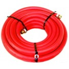 """Water Hose Goodyear Industrial 3/4"""" x 75' Red Rubber 200psi - USA"""
