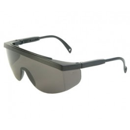 "Safety Glasses ""Galaxy"" SMOKE Lens - Black Frame"