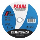 "Pearl 2"" x 1/16"" x 3/8"" Premium AL/OX Cut-Off Wheel (Pack of 25)"