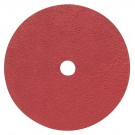 "Pearl 4-1/2"" x 7/8"" 36Grit Redline Ceramic Resin Fiber Disc (25 Pack)"