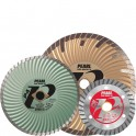 Turbo Rimmed Diamond Blades
