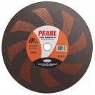 "Pearl 12"" x 1/8"" x 1"" Premium SRT36 Gas Saw Wheel - Metal (Pack of 10)"