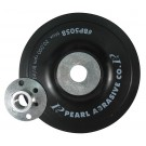"Pearl 4"" x M10 x 1.25 Center Nut Smooth-Faced Back Up Pad"