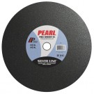 "Pearl 10"" x 1/8"" x 1"" A30R Chop Saw Wheels - Metal (Pack of 10)"
