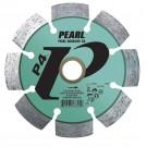 "Pearl 4 1/2"" x .250 x 7/8"" - 5/8 P4 PRO-V Tuck Point Diamond Blade"