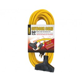 Extension Cords Heavy Duty 12/3 Triple-Tap - 50ft