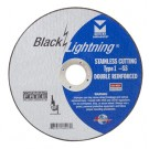 "Mercer Black Lightning 6"" x .045 x 7/8""  Stainless Steel (Pack of 25)"