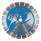 """Pearl 12"""" x .125 x 1"""", 20mm  P1 EXV Segmented Diamond Blade"""