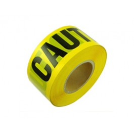 "Caution Tape 3"" X 1000' Yellow - 1 Roll"