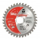 "Silver Lightning Wood Cutting Saw Blades 5 3/8"" x 10mm x 24T - 715382"