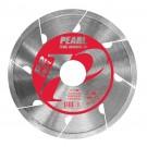 "7"" x .060 x 5/8"" Pearl P2 PRO-V Porcelain Tile"