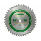 "WOOD CUTTING SAW BLADES 10"" X 5/8"" X 40T"