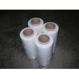 "Stretch Wrap 18"" x 1500' 12mic Clear - 4/Rolls"