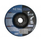 "Norton Grinding Wheels 4"" x 1/4"" x 5/8"" Depressed Center - Metal"