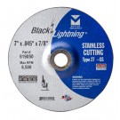 "Mercer Black Lightning 7"" x .045 x 7/8""  - Stainless Steel (Pack of 25)"