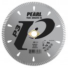 "Pearl 4"" x .090 x 7/8"", 20mm, 5/8"", 4-holes P3 Diamond Blade - Granite"