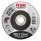 "4-1/2"" x .045 x 7/8""  Pearl PRO-V Type 27 Cut-Off Wheels (Pack of 25)"