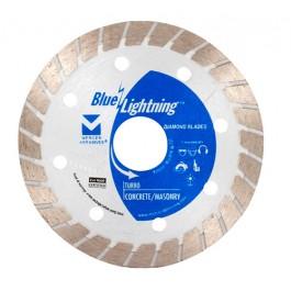 "Blue Lightning Diamond Saw Blades 4"" x .080 x 7/8"", 20mm, 5/8"""