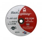 "Mercer Black Lightning 7"" x .045"" x 5/8"" - Metal (Pack of 25)"