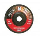 """Mercer 5"""" x 1/4"""" x 7/8"""" Grinding Wheel TYPE 27 - Metal (Pack of 25)"""