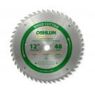 "WOOD CUTTING SAW BLADES 12"" X 1"" X 48T"