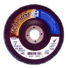 "Mercer Zirconia Flap Disc 4"" x 5/8"" 120grit HD - T29 (Pack of 10)"