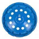 "Segmented Diamond Cup Wheels 4"" x 5/8"" - 11 -Mercer Blue Lightning"