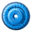 "Mercer Zirconia Flap Disc 4 1/2"" x 5/8"" -11 120grit Standard - T29 (Pack of 10)"