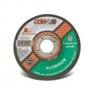 "CGW Quickie Cut Reinforced  Cut-Off Wheel - 4-1/2"" x .045 x 7/8"" - Aluminum - Type 27"