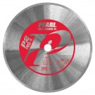 "Pearl 10"" x .050 x 5/8"" P2 PRO-V Diamond Blade - Glass Tile"