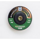 "Mercer 4 1/2"" x 1/4"" x 7/8"" Grinding Wheel TYPE 27 - Masonry (Pack of 25)"