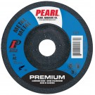 """Pearl 5"""" x 1/8"""" x 7/8"""" Grinding Wheel 46 Grit  TYPE 27 - Metal (Pack of 25)"""