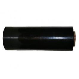"Stretch Wrap 18"" x 1500' 80g Black - 4/Rolls"