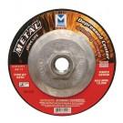 """Mercer 4 1/2"""" x 1/4"""" x 5/8"""" -11 Grinding Wheel TYPE 27 - Metal (Pack of 20)"""