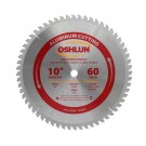 "Aluminum Cutting Saw Blades 10"" X 5/8"" X 60T"